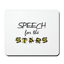 Speech for the Stars Mousepad