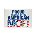Proud Member of American MOB Rectangle Magnet