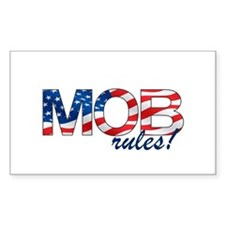 MOB Rules! Rectangle Decal