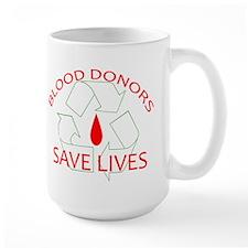 Blood Donors Save Lives Mug