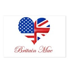 Britain Mae Postcards (Package of 8)
