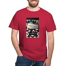 Christmas Book Cover T-Shirt