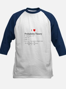 I Heart Probability Theory (with math) Tee