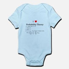 I Heart Probability Theory (with math) Infant Body