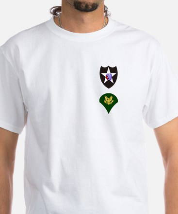 506th Infantry Specialist White T-Shirt 2