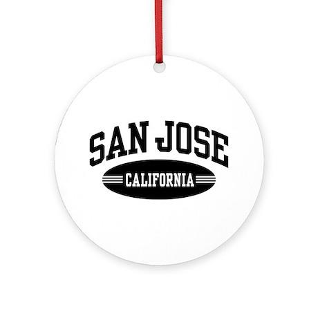 San Jose Ornament (Round)