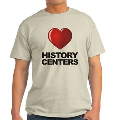 Love History Centers T-Shirt
