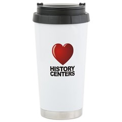 Love History Centers Stainless Steel Travel Mug