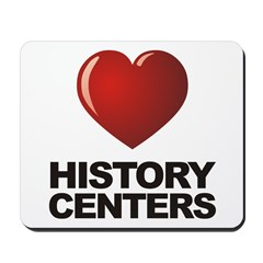 Love History Centers Mousepad