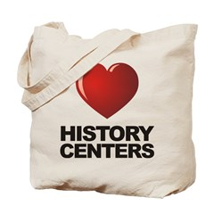 Love History Centers Tote Bag