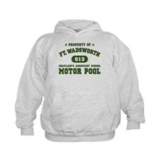 Motor Pool at Ft Wadsworth Hoodie