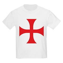 Knights Templar Kids T-Shirt
