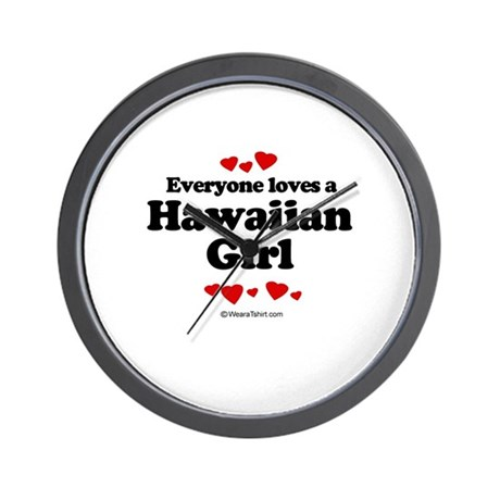 Everyone loves a Hawaiian Girl ~ Wall Clock