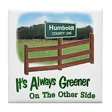 Humboldt County Tile Coaster