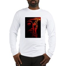 Jesus Christ with crown of th Long Sleeve T-Shirt