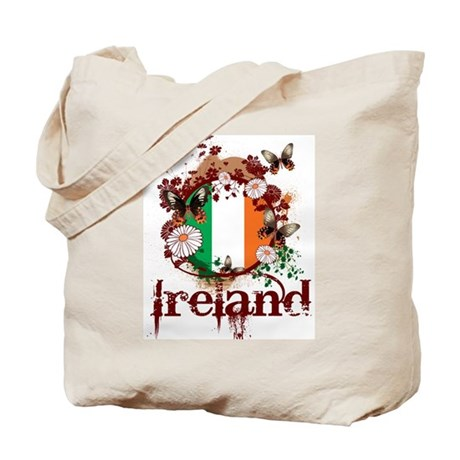 Butterfly Ireland Tote Bag