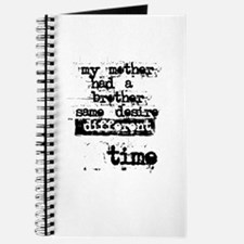 Mother Brother Desire Time Journal