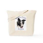 Border Collie Mom's Tote Bag