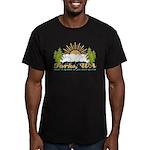 Forks #2 Men's Fitted T-Shirt (dark)