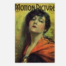 Gloria Swanson 1922 Postcards (Package of 8)