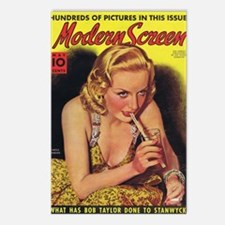 Carole Lombard 1938 Postcards (Package of 8)
