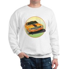 The Avenue Art Big Bad Orange Sweatshirt
