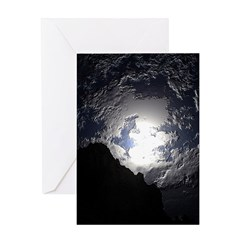 Earth Sky Greeting Card