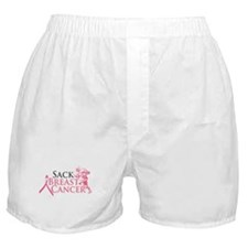 Sack Breast Cancer Boxer Shorts