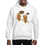 musical owls Hooded Sweatshirt