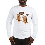 musical owls Long Sleeve T-Shirt