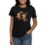 musical owls Women's Dark T-Shirt
