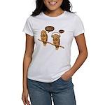 musical owls Women's T-Shirt