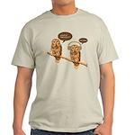 musical owls Light T-Shirt