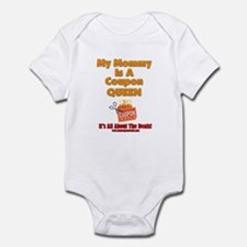 My Mommy Is A Coupon Queen Infant Bodysuit