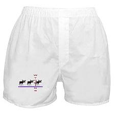 Wyoming Moose Boxer Shorts