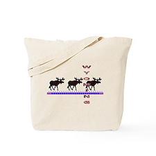 Wyoming Moose Tote Bag
