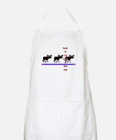 Wyoming Moose BBQ Apron