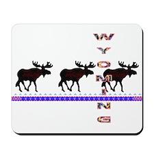 Wyoming Moose Mousepad
