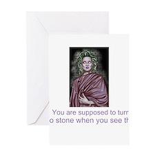 Greek mythology myths Roman Greeting Card
