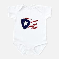 P.R. Flag Infant Bodysuit