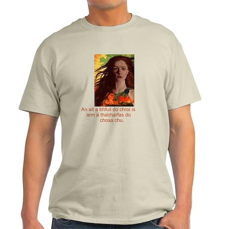 Celtic Irish Gaelic Light T-Shirt