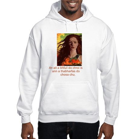 Celtic Irish Gaelic Hooded Sweatshirt