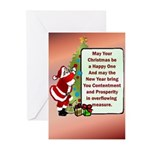 Christmas Be Happy Greeting Cards (Pk of 20)