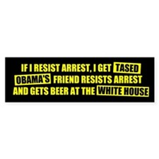 Beer at the White House Bumper Bumper Sticker