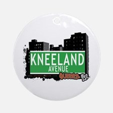 KNEELAND AVENUE, QUEENS, NYC Ornament (Round)