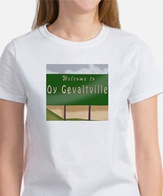 Welcome to Oy Gevaltville Tee