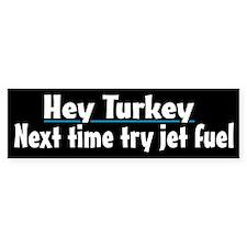 Funny Turkey Demolition Bumper Bumper Sticker