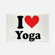 I Heart Yoga: Rectangle Magnet (10 pack)