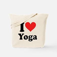 I Heart Yoga: Tote Bag
