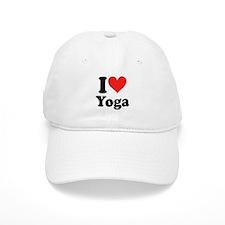 I Heart Yoga: Baseball Cap